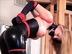 Briana Latex Sex xxxiv hd vedio bondage slave big krok domination
