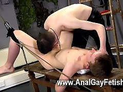Gay fuck Aaron use to be a slave dude himself, and he picked up a lot of