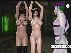 3D de mierda y anal