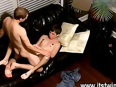 Twink sex We watch from above as the folks share their peckers and