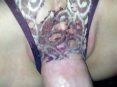 Wet Panty Fucking, ripped a hole with my dick - Lydia and Aaron