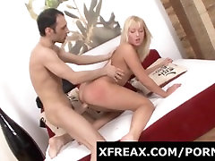 First Time in Porn for Really Petite Blond