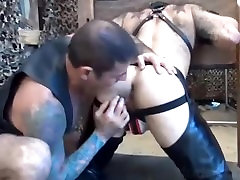 Ultimate Gay Felch Compilation-Pigs lick barebacked ass and suck cum Part 1