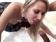 AMWF Nicole Evans interracial with Asian guy