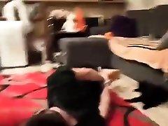 Femdom stockings domina strapon fucks annette schwartz bbc dp fetish victim