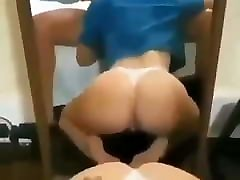 Hard blow job