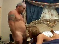 Old man fucks chubby girl
