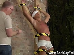 Hot twink Slave Boy Made To Squirt