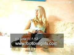 Trixies Sexy German Feet & Soles From Footlovegirls