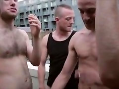 ORGY HOT FUCK OF BIG DICKED PIGS