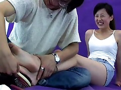 tickling chinese feet
