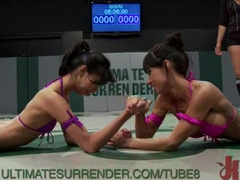 Amazing featherweights battle it out to see who the baddest girl