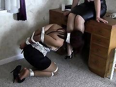 Femdom weird fetish aniemal girl sex bondage mistress
