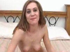Teen filmed on how naughty she is