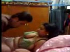 Indian Aunty Fucked while Husband Not Home