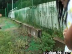 Anri Nonaka Asian hot babe in outdoor part6
