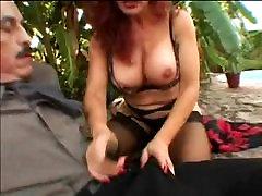 Sexy Mature slut with gigantic tits