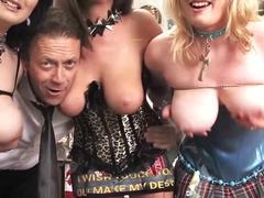 Rocco Siffredi Ass Fucks Two Teens MILK ENEMAS