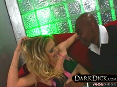 White Leah Luv fucked by Black Man Interracial