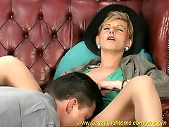 hot mom loves deep anal sex