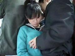 Stranger gropes innocent Schoolgirl