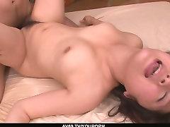 A busty asian blowjob and fucking with Kyouka Mizusawa