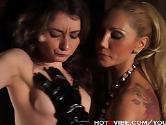 She Slaps the Squirt Out of Her