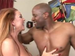 Blonde MILF gets fucked at the next door