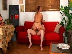 Italian daddy fucks girl