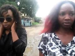 Amateur Black Lesbians Kiss And Fuck