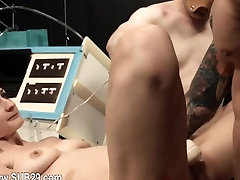 Submissive BDSM sexing with anal whore