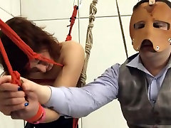 To much of rope and extreme BDSM submissive deepfucking