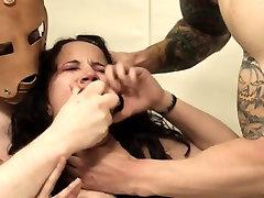 horny BDSM toilet slut fucked anally hard