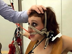 To much of rope and neat BDSM submissive sex