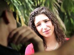 HelplessTeens Abella Danger rope freehardcore teen sex outdoors