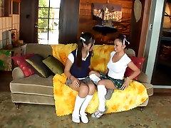 Evelyn Lin & Mya Luana Part 1 of 2 -- Lesbians