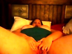 Fat Woman Plays With Her Thick Pussy