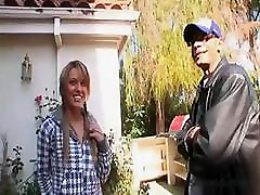 Horny blonde Holly Wellin gets fucked and gets a mouthful