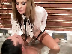 Cfnm fetish ho rides dick