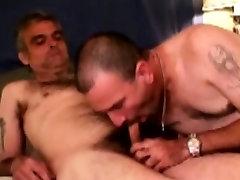 Mature straight bear amateurs sucking