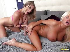 Nikita eating out the sweet pussy lips of Brianna Ray