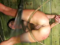 FetishNetwork Isa Mendez xxc porn videos com slave girl tied hard