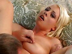 Horny Blonde Enjoys Ed Powers Cock