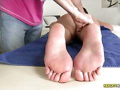 Beautiful butt Nia Black slammed in her wet minge