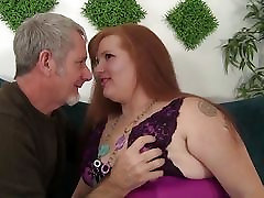 BBW Scarlett Raven gets her fat shaved pussy fucked