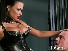 horny mom teaces XXX Subs are humiliated before anal