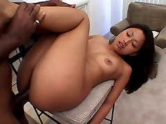 Black stud banging Asian pussy