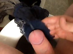 Me masturbating with panties