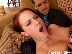 You have to earn your position as my cuckold slave