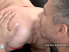 Angela White - Big Tits Hardcore and Facial